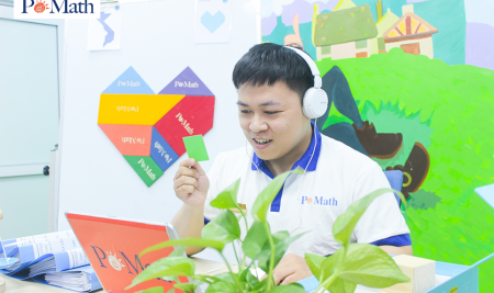 Học ở nhà – Tránh xa COVID với chương trình học trực tuyến cùng POMath
